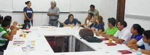 Sesión efectuada en la Facultad de Arquitectura.